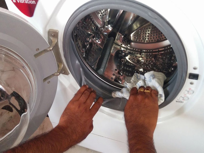 cách vệ sinh máy giặt